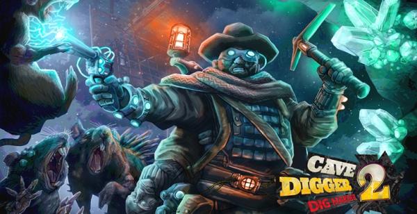 VR冒险游戏《Cave Digger 2:Dig Harder》即将发布抢先