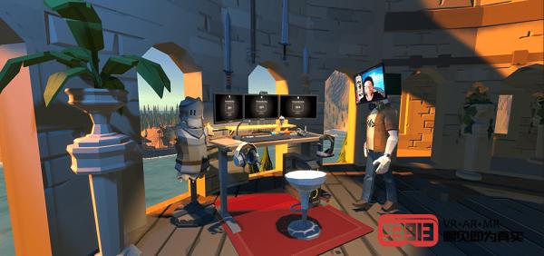 《Pistol Whip》开发商Cloudhead Games正在开发VR远程办公应用