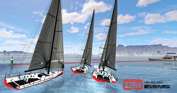VR竞技帆船游戏《MarineVerse Cup》推出全新顶配VR帆