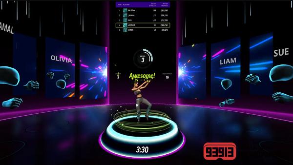 VR健身游戏《FitXR》有氧健身操模式现已上线