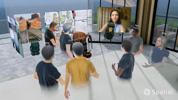VR/AR协作平台Spatial推出最新更新