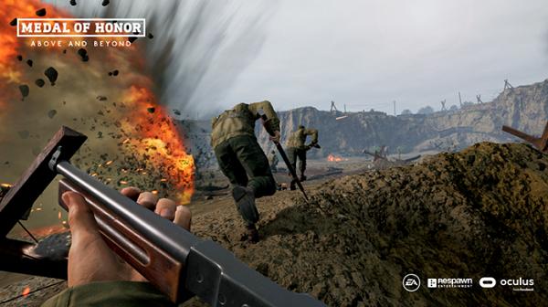 支持多人在线模式:VR射击游戏《荣誉勋章:超越巅峰》发布最新预告片