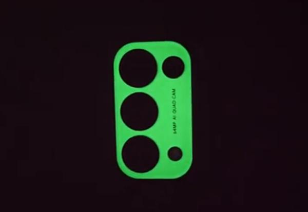 OPPO Reno5隐藏彩蛋曝光:夜光镜头亮相