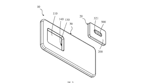OPPO新专利出奇招 后置镜头秒变前置