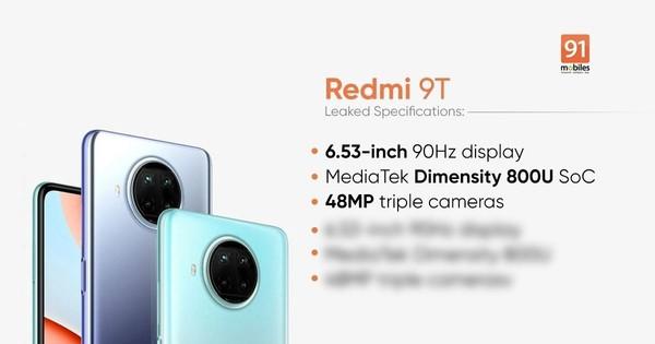 Redmi Note9T亮相德国市场 1800+起售