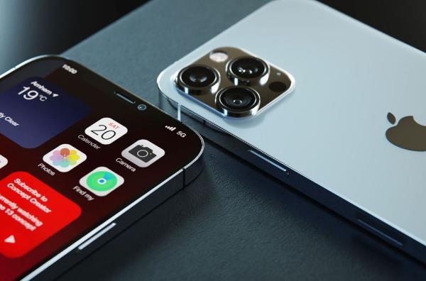 iPhone 12s Pro高清渲染:120Hz高刷屏指纹