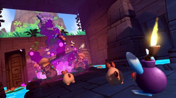 夺回Maconda火山岛:VR益智游戏「PePiBo」登陆Oculus应用商店