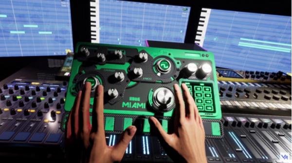 美国音乐器材经销商Korg推出多功能音乐制作应用Gadget-VR