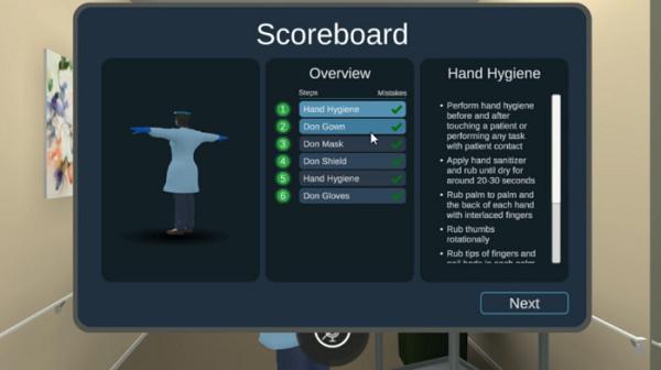 VR医疗模拟培训应用Virtro采用AI自由对话引擎增强培训效果