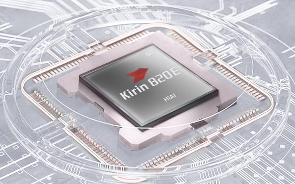 华为麒麟820E SoC出道:7nm工艺 六核CPU