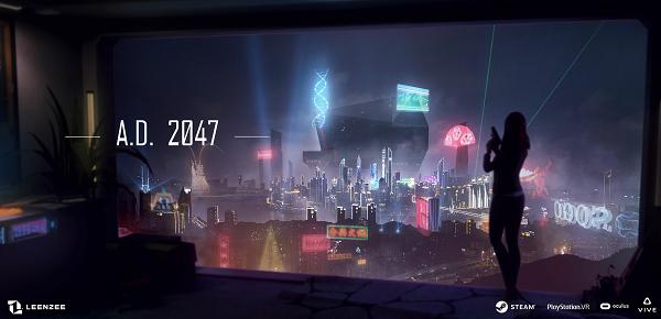 《公元2047》 互动电影中赛博朋克情感悬疑VR游戏的代表作 全面上映!