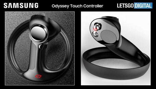 三星两项VR/AR控制器专利曝光 或为新款Odyssey系列MR头显设计