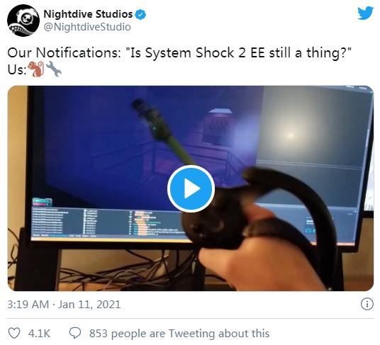 致敬经典:RPG游戏「System Shock 2」增强版兼容VR模式