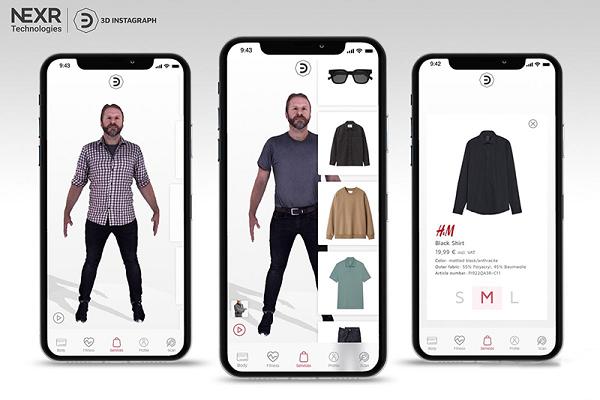 """与VR/AR技术解决方案提供商合作 HM将于今年夏天推出""""数字试衣间"""""""