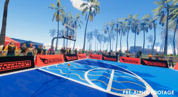 """VR街头篮球游戏""""街球联盟""""抢先体验版即将登陆Steam"""