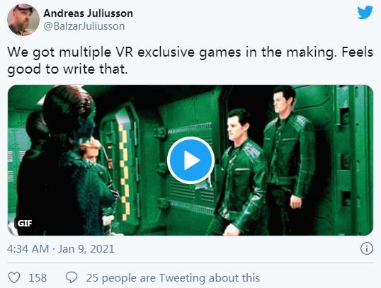 瑞典游戏工作室Fast Travel Games正在开发多款VR游戏