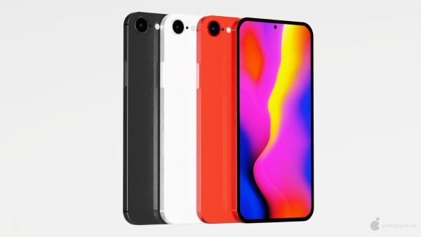 iPhone SE Plus概念设计曝光:单孔指纹识别