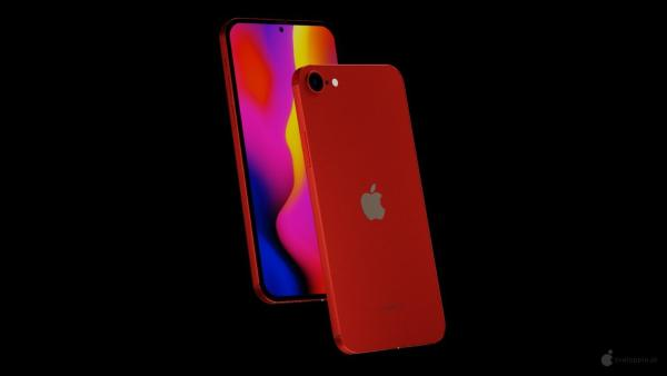 iPhone SE Plus概念设计曝光:单挖孔+指纹识别