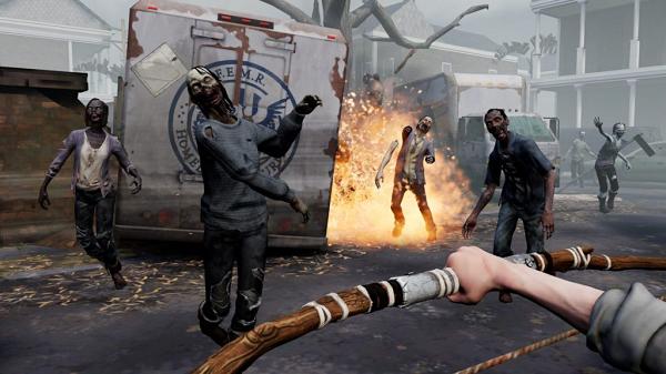 VR僵尸生存游戏《行尸走肉:圣人与罪人》赚了2900多万美元
