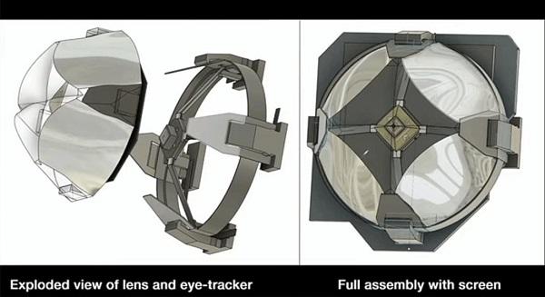 """法国工业设计初创公司Lynx展示MR头显""""Lynx R-1""""光学镜头"""