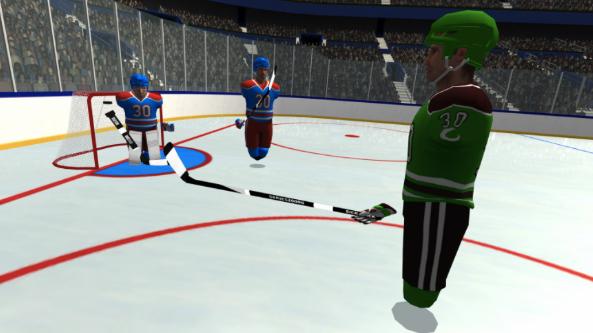 VR曲棍球游戏「Pick-up League Hockey」上线App Lab