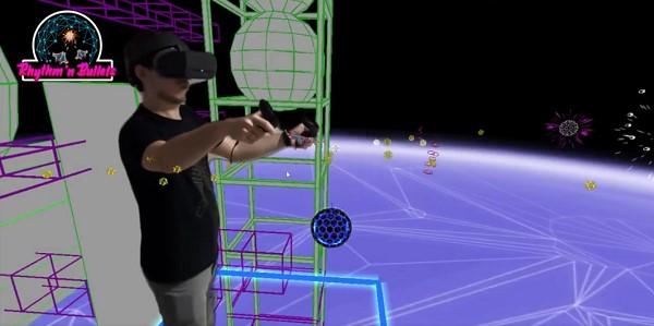 VR塔防游戏「Rhythm'n Bullets」上线App Lab
