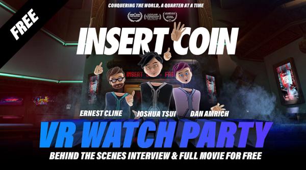 「Insert Coin」纪录片放映会即将在Bigscreen举行