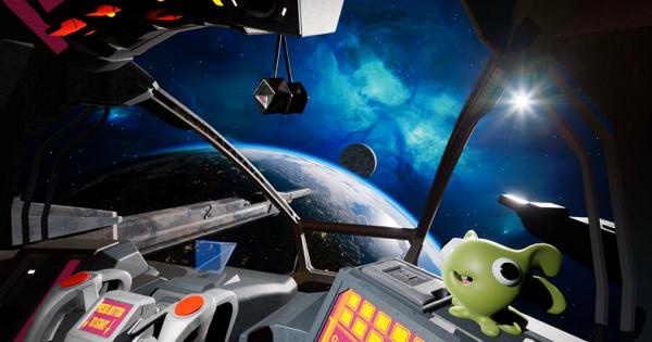VR太空射击游戏《齐格的宇宙冒险》即将登陆Steam