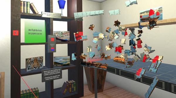 VR益智游戏「Jigsaw Puzzle VR」上线Oculus应用商店