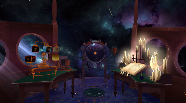 VR休闲游戏「Stargaze」3月4日登陆Oculus应用商店