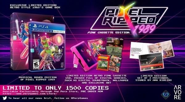 VR冒险游戏「Pixel Ripped 1989」实体版即将发售