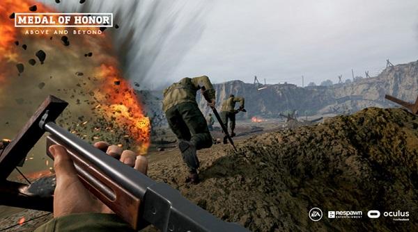 VR射击游戏「荣誉勋章:超越巅峰」兼容HP Reverb G2