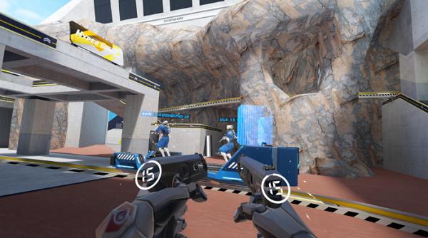 5V5多人VR射击游戏「Hyper Dash」本月登陆Oculus Quest