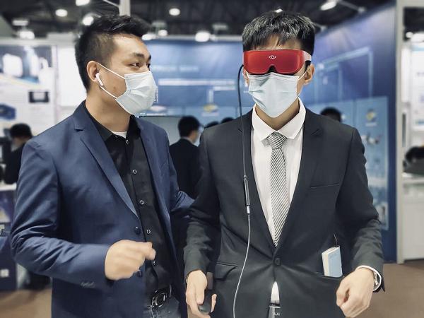 2021 MWC上海展 3Glasses聚焦XR产业生态,联接未来5G新生活