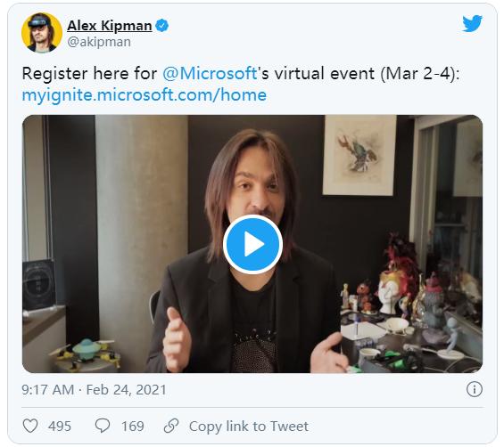 微软Ignite 2021下周在AltspaceVR中举办,将探讨MR的未来