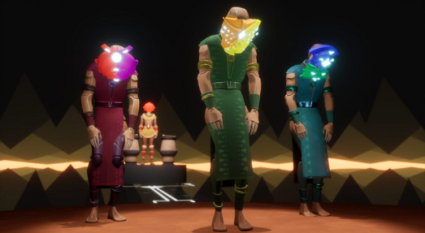 VR冒险游戏《Maskmaker》开发者InnerspaceVR发布第一部幕后纪录片短片