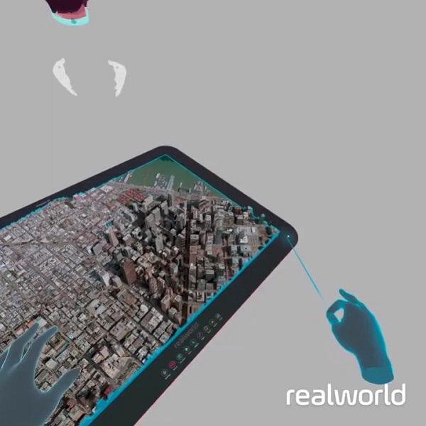 VR地图应用Realworld支持用户探索现实世界