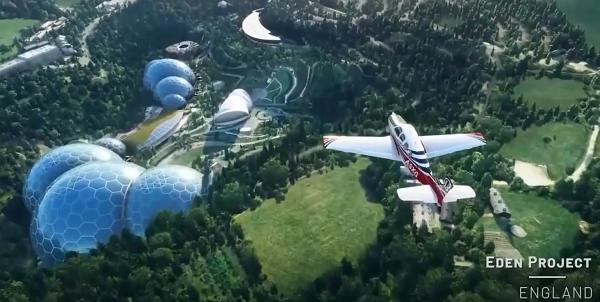 """热门模拟飞行游戏""""微软飞行模拟器""""发布更新3更新"""