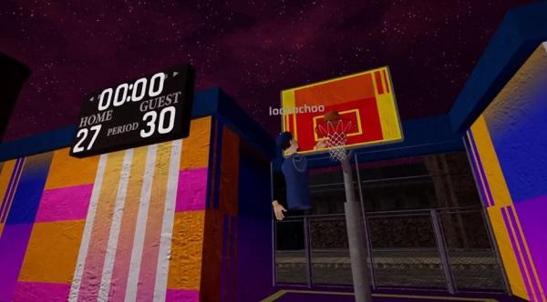 VR篮球游戏「Pickup Basketball VR」抢先体验版即将上线Steam
