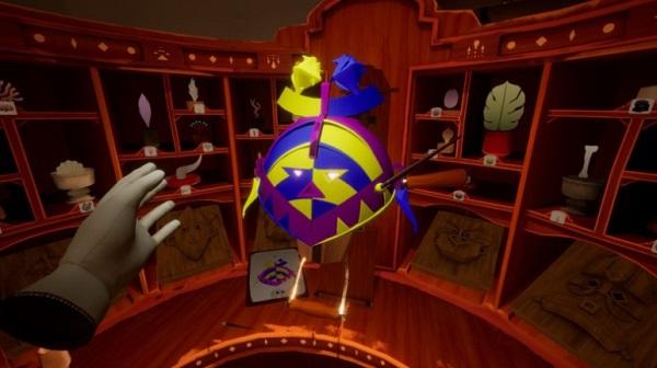 VR冒险游戏《面具人》发布最新预告片
