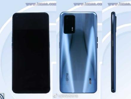 realme新机ID图片发布:Snapdragon 888 120W快充超级旗舰
