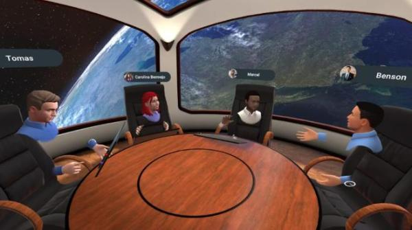 VR协作应用「MeetinVR」上线Oculus应用商店