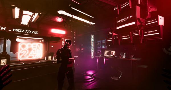 赛博朋克题材PCVR冒险游戏「Low-Fi」兼容Ultraleap手部追踪技术