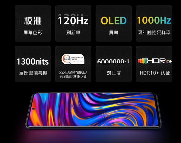 iQOO Neo5屏幕揭晓:120Hz+1000Hz采样率