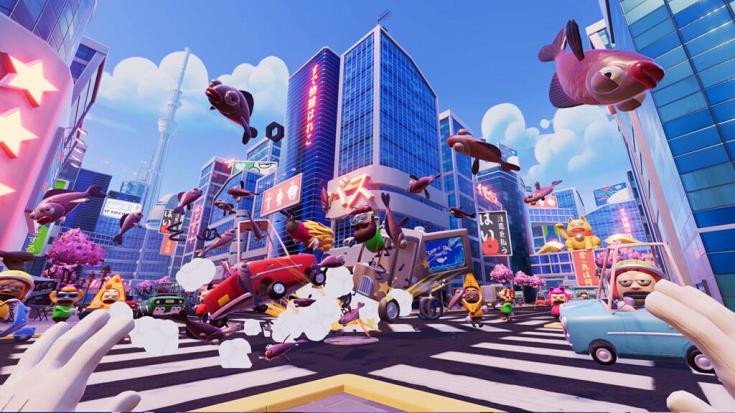 VR休闲游戏《堵车》将于4月8日上映