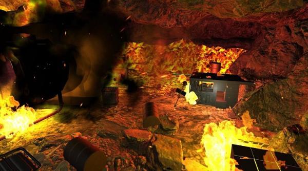 VR生存冒险游戏《熔岩逃矿》登陆Oculus应用商店
