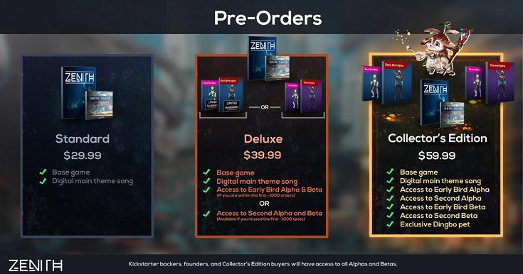 VRMMORPG游戏「Zenith」已开启预售