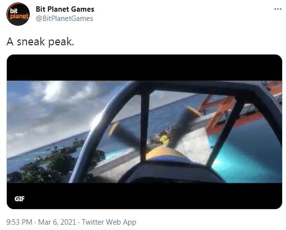 VR飞行游戏「Ultrawings」续作最新空战GIF发布