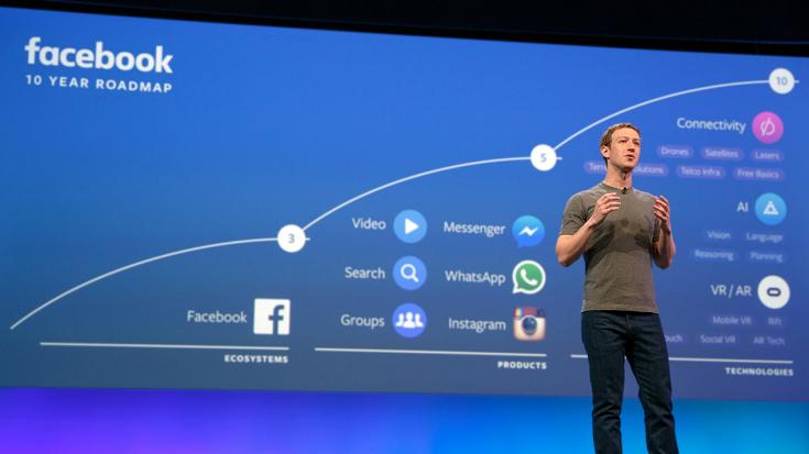 AR/VR战略激进 Facebook相关业务从业人员接近1万人