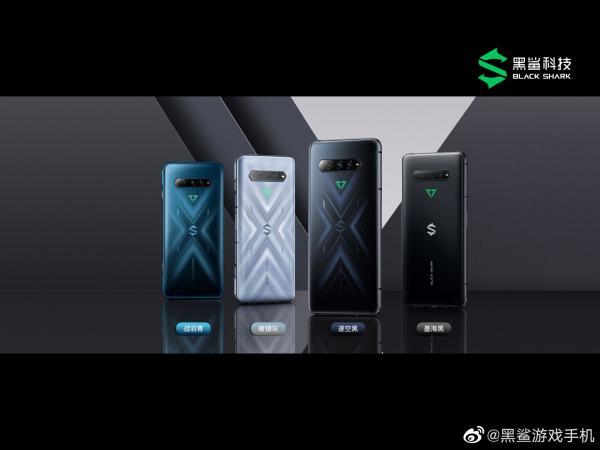 黑鲨4/4 Pro发布:全系120W快充还送充电器 2499元起售